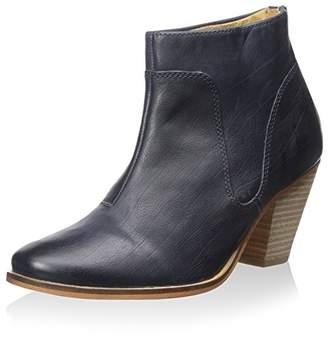 J Shoes Women's Belgrave Dress Stacked Block Heel Bootie