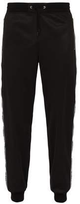 Givenchy Logo Side Webbing Track Pants - Mens - Black