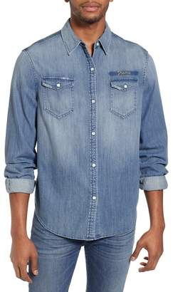 Frame Military Denim Sport Shirt
