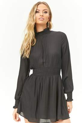 Forever 21 Smocked Woven Dress