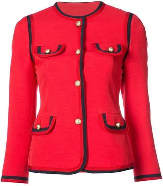 Gucci notched collar jacket