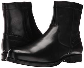 Florsheim Midtown Plain Toe Zip Boot Men's Dress Zip Boots