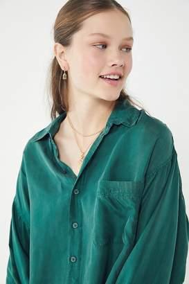 Urban Renewal Vintage Oversized Silk Blouse