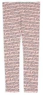 Fendi Little Girl's & Girl's Allover Heart Leggings