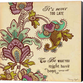 Too Late Never by Tammy Apple Canvas Art