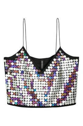 H&M Sequined Bustier