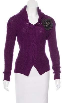 Oscar de la Renta Cashmere Knit Sweater w/ Tags
