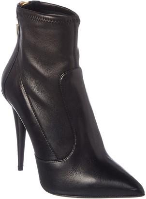 Giuseppe Zanotti Leather Sock Boot