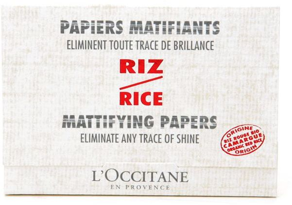 L'OCCITANE en Provence Mattifying Rice Papers 50 ea