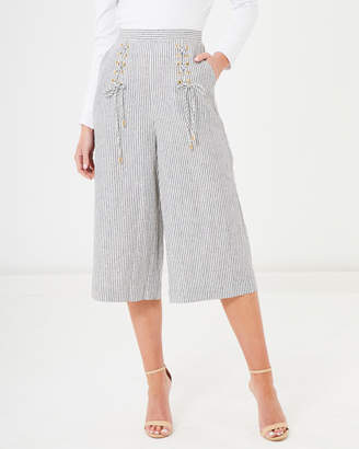 Nina Lace Up Trousers