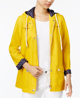 Maison Jules Hooded Raincoat, Only at Macy's $99.50 thestylecure.com