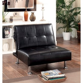 Furniture of America Arnold Contemporary Convertible Chair, Multiple Colors