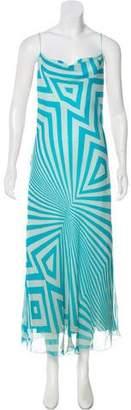 Giuliana Teso Silk Printed Dress