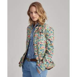 Ralph Lauren Floral Canvas Barn Jacket