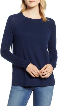 Vineyard Vines Back Zip Crewneck Sweater