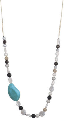 Alexis Bittar Beaded Liquid Silk Necklace