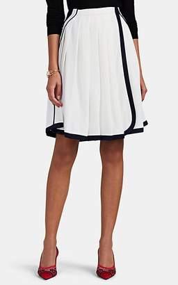 Prada Women's Pleated Wrap Skirt - White