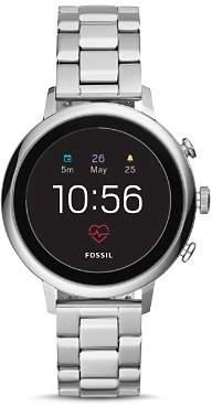 Fossil Q Explorist HR Stainless Steel Touchscreen Smartwatch, 40mm