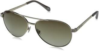 Fossil Women's FOS3051S Aviator Sunglasses