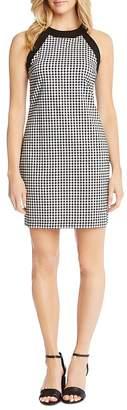 Karen Kane Contrast Gingham Dress