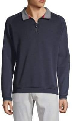 Bugatti Knit Half Zip Pullover