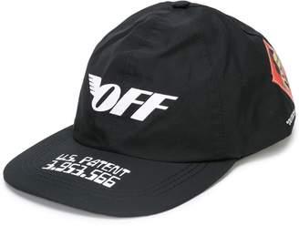 Off-White wing print cap
