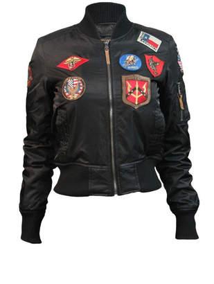 Top Gun Nylon Bomber Jacket