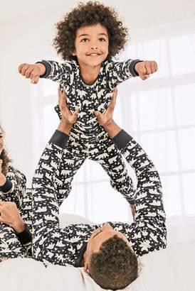 Next Boys Navy Just Like Me Polar Bear Pyjamas (9mths-16yrs)