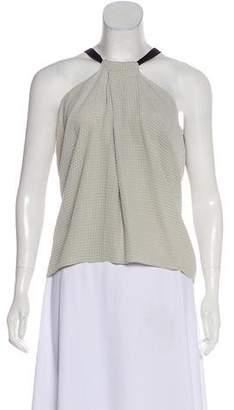 Roland Mouret Sleeveless Silk Top