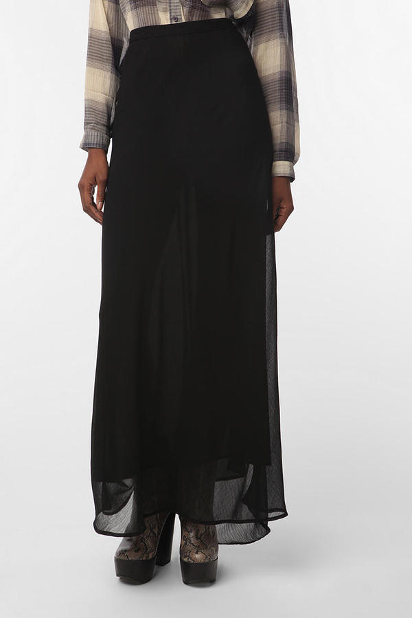 Ecote Bias Maxi Skirt