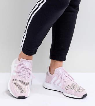 adidas Swift Run Trainers In Pink Multi