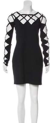 Temperley London Silk Long Sleeve Dress