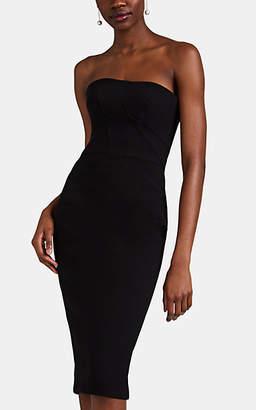 Zac Posen Women's Cady Strapless Cocktail Dress - Black