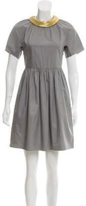3.1 Phillip Lim Woven Mini Dress
