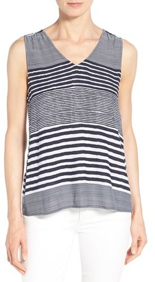 Women's Tommy Bahama 'A Stripe To Remember' V-Neck Tank $88 thestylecure.com