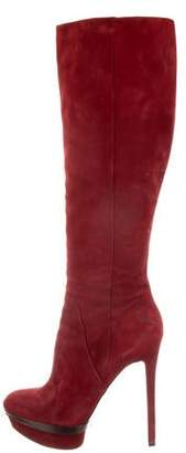 Brian Atwood Platform Over-The-Knee Boots