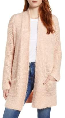Caslon Novelty Stitch Cardigan