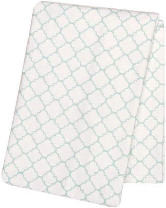 Trend Lab TREND LAB, LLC Mint Quarterfoil Swaddle Blanket