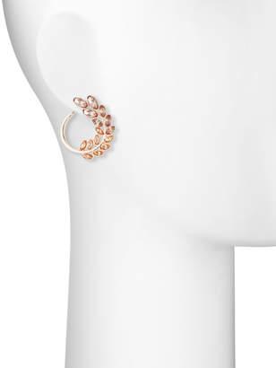 Fragments for Neiman Marcus Front-Facing Vine Hoop Earrings