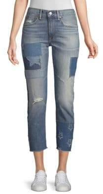 Ralph Lauren The Waverly Straight Crop Jeans