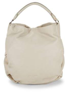 Liebeskind Berlin Debossed Logo Leather Hobo Bag
