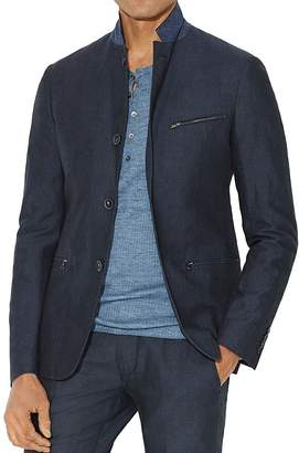John Varvatos Star USA Button Notch Lapel Blazer $398 thestylecure.com