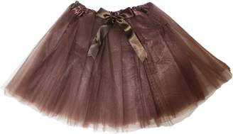 Petitebella Solid Color Tulle Tutu Skirt for Lady