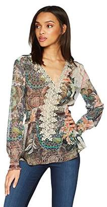 Desigual Women's Modern Lovers Long Sleeve Blouse