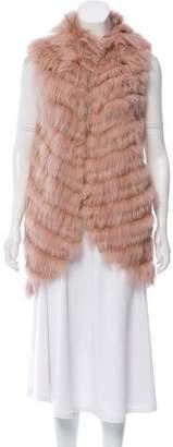 BCBGMAXAZRIA Darah Fur Vest w/ Tags