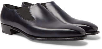 Anthony Logistics For Men George Cleverley Cleverley Burnished-Leather Loafers