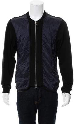 Dries Van Noten Zip-Up Bomber Jacket