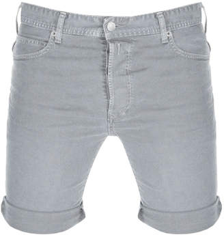 Replay RBJ 901 Denim Shorts Grey