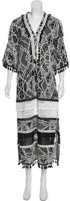 Jonathan Simkhai Embellished Maxi Dress