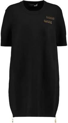 Love Moschino Embellished Knitted Mini Dress